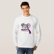 Light On Alzheimer's Awareness Support Gift T-Shirt
