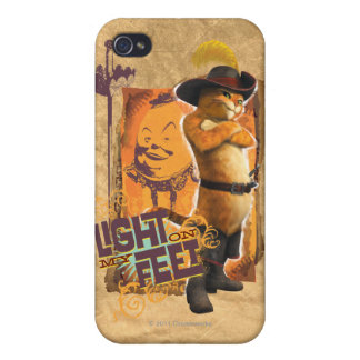 Light On My Feet Cover For iPhone 4