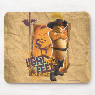 Light On My Feet Mouse Pad