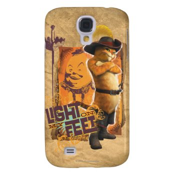 Light On My Feet Samsung S4 Case by pussinboots at Zazzle