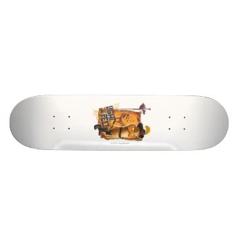 Light On My Feet Skateboard by pussinboots at Zazzle