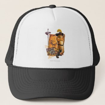 Light On My Feet Trucker Hat by pussinboots at Zazzle