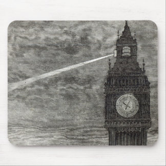 Light on the Clock Tower, Houses of Parliament Mouse Pad