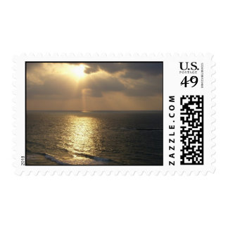 Light on the water postage