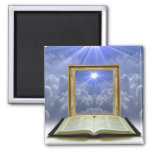 Light on the Word Magnet 2 Inch Square Magnet