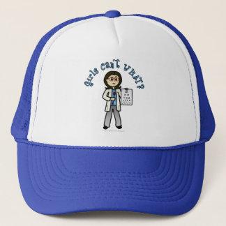 Light Optometrist Trucker Hat