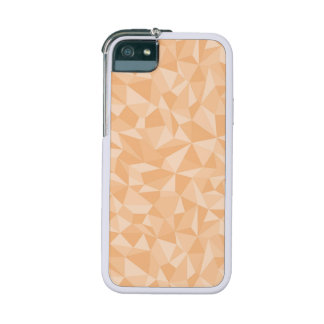 Light Orange Abstract Mosaic Pattern iPhone 5/5S Cases