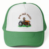 Light Orange Farmer Trucker Hat