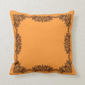 Light Orange Pillows - Decorative & Throw Pillows Zazzle