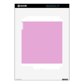 Light Orchid Pink Decals For iPad 2