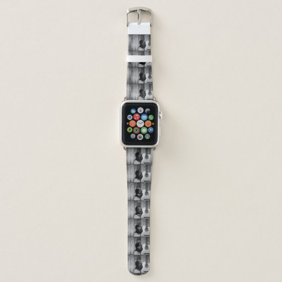 light  oyster music watch apple watch band