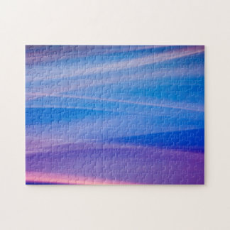 Light painting abstract color trails jigsaw puzzle