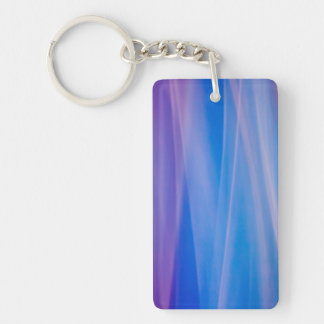 Light painting abstract color trails keychain