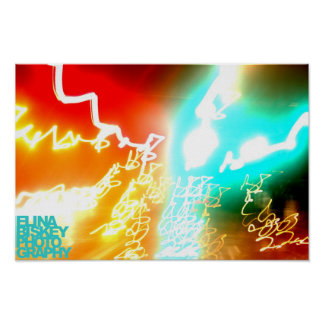 Light Paintings Poster