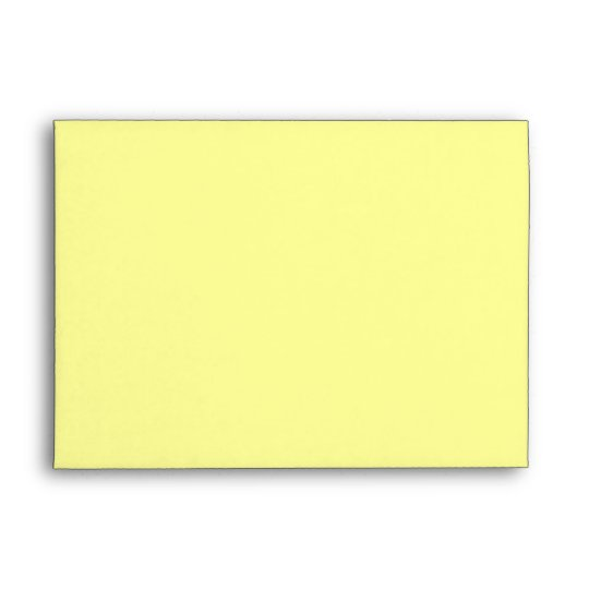 light pale yellow 5x7 blank envelopes zazzle com