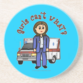 Light Paramedic Girl Coaster
