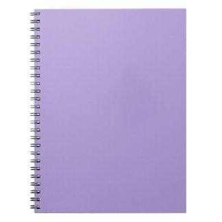 Light Pastel Purple Note Books