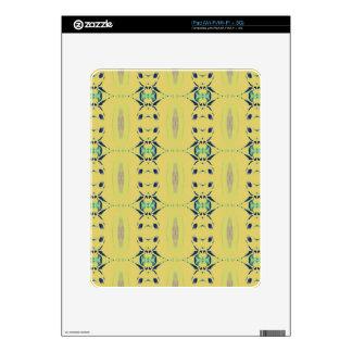 Light Pastel Yellow Seamless Pattern iPad Decal