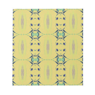 Light Pastel Yellow Seamless Pattern Notepad