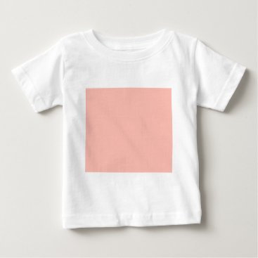 Professional Business Light Peach Color Only Nothing But Color Designs Baby T-Shirt