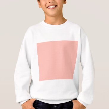 Professional Business Light Peach Color Only Nothing But Color Designs Sweatshirt
