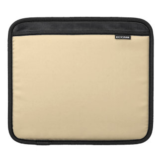 Light Peach High End Colored Sleeves For iPads