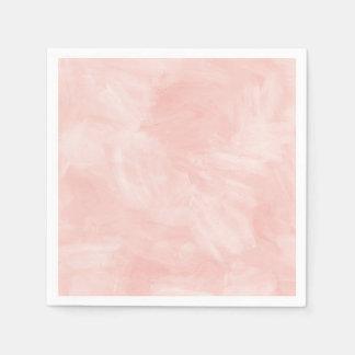 Light Peach Retro Watercolor Texture Paper Napkin