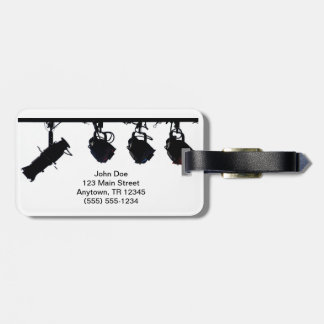 Light Person s Luggage Tag