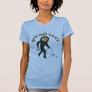 Light Pest Control Girl Shirt