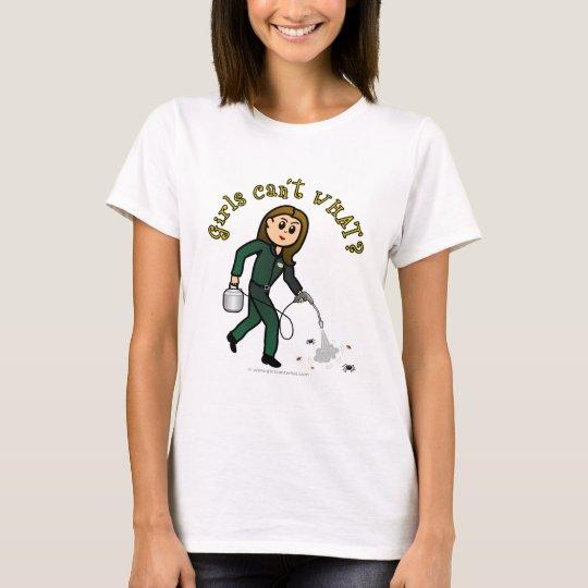 Light Pest Control Girl T-Shirt