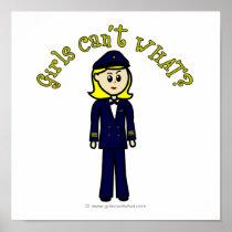 Light Pilot Girl posters