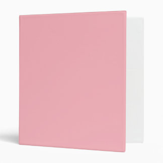 Light Pink 3 Ring Binder