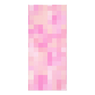 Light Pink Abstract Pattern. Rack Card