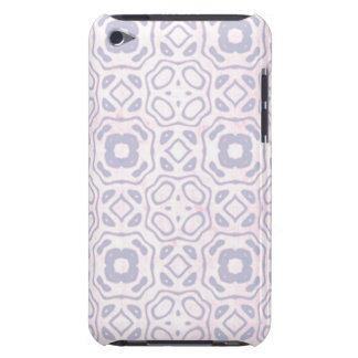 Light Pink and Blue Pattern Barely There iPod Cover