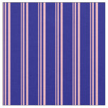 [ Thumbnail: Light Pink and Blue Pattern Fabric ]