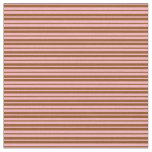 [ Thumbnail: Light Pink and Brown Colored Pattern Fabric ]