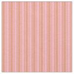 [ Thumbnail: Light Pink and Dark Salmon Pattern of Stripes Fabric ]