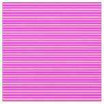 [ Thumbnail: Light Pink and Fuchsia Lines/Stripes Pattern Fabric ]