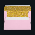 """Light Pink and Gold Envelope 