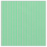 [ Thumbnail: Light Pink and Green Colored Stripes Pattern Fabric ]