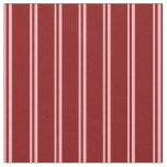 [ Thumbnail: Light Pink and Maroon Lined/Striped Pattern Fabric ]