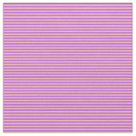 [ Thumbnail: Light Pink and Orchid Colored Pattern of Stripes Fabric ]