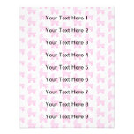 Light Pink and White Baby Stroller Pattern. Invite