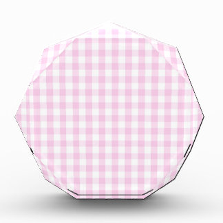 light pink and white gingham pattern preppy girly awards