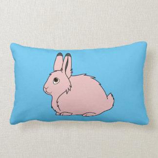 Light Pink Arctic Hare Pillows