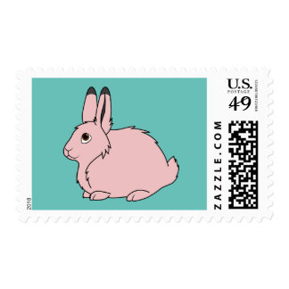 Light Pink Arctic Hare Stamp