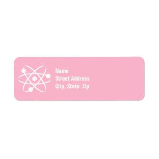 Light Pink Atom Label