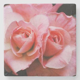 Light Pink Azalea Stone Beverage Coaster