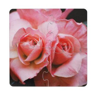 Light Pink Azalea Puzzle Coaster