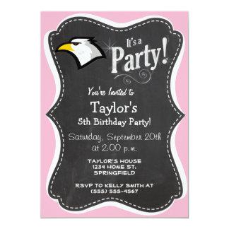 Light Pink Bald Eagle Card